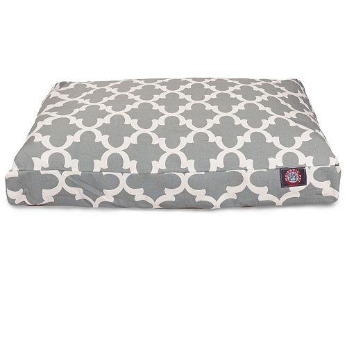 Majestic Pet Trellis Indoor Outdoor Rectangle Dog Bed