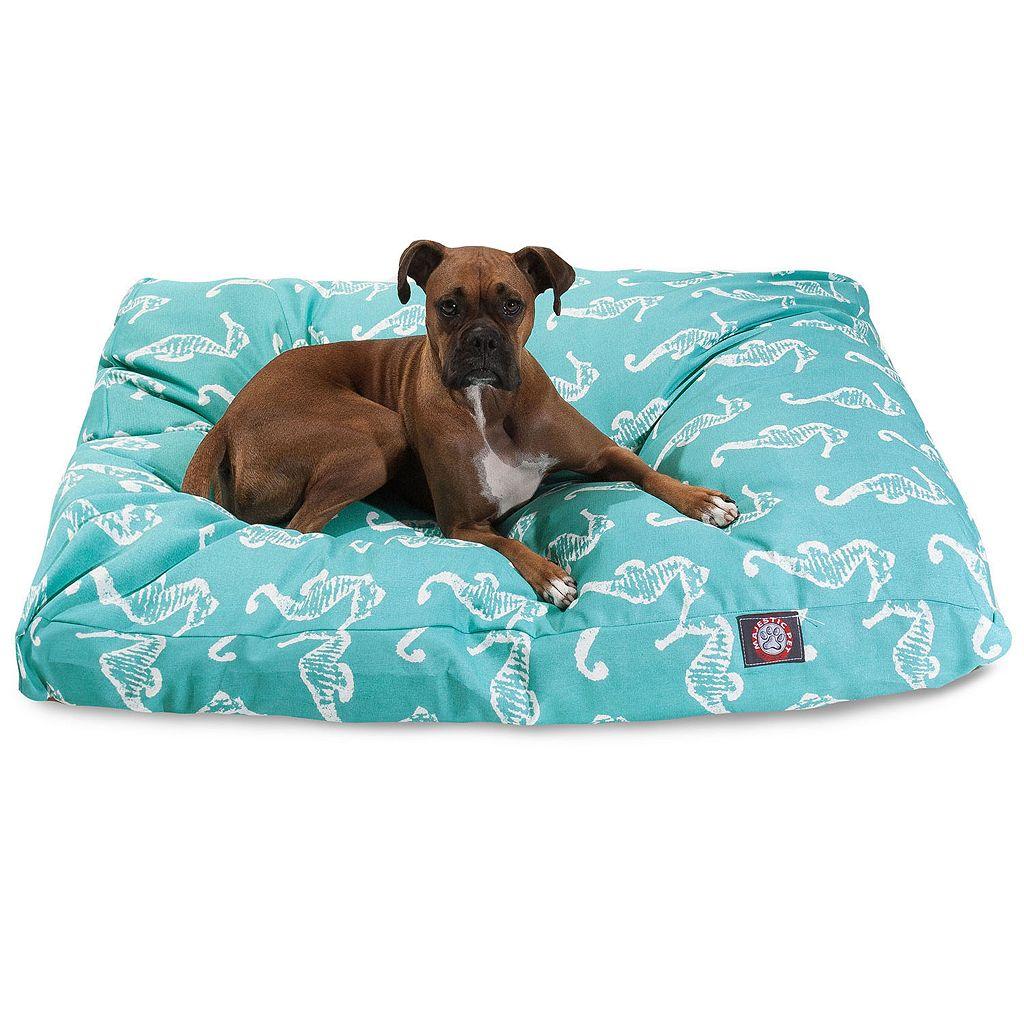 Majestic Pet Sea Horse Indoor Outdoor Rectangle Dog Bed