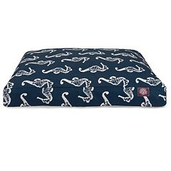 Majestic Pet Sea Horse Indoor Outdoor Rectangle Dog Bed