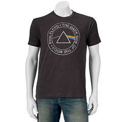 Men's Pink Floyd Dark Side Logo Band Tee