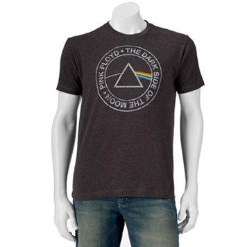 Men's Pink Floyd Dark Side Logo Band Tee