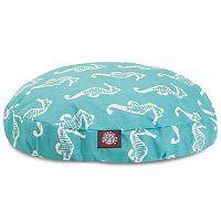 Majestic Pet Sea Horse Indoor Outdoor Round Dog Bed