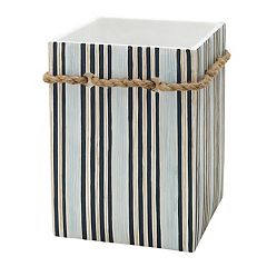 Zenna Home Seaside Serenity Wastebasket