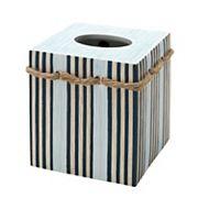 Zenna Home Seaside Serenity Tissue Box Cover