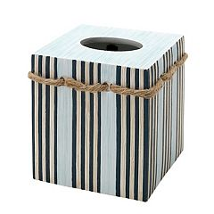 Zenna Home Seaside Serenity Tissue Box Cover