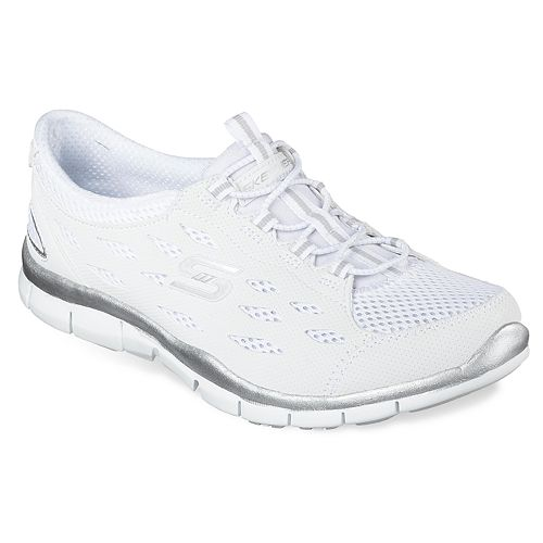 Skechers Gratis Mesh Bungee Women's Slip On Athletic Shoes