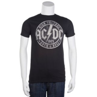 Men's AC/DC High Voltage Stamp Band Tee