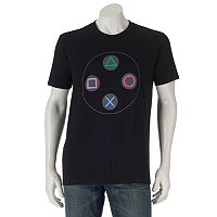 PlayStation Controller Buttons Tee - Men