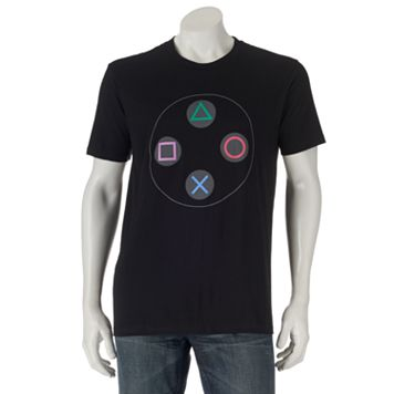 PlayStation Controller Buttons Tee - Men