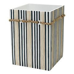 Zenna Home Beach Cottage Wastebasket