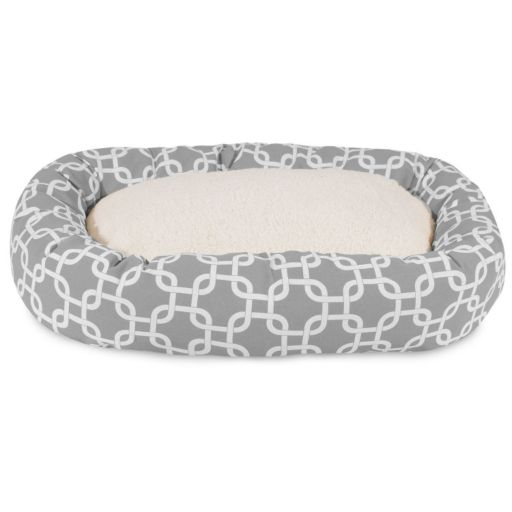 Majestic Pet Links Sherpa Indoor Outdoor Bagel Bed