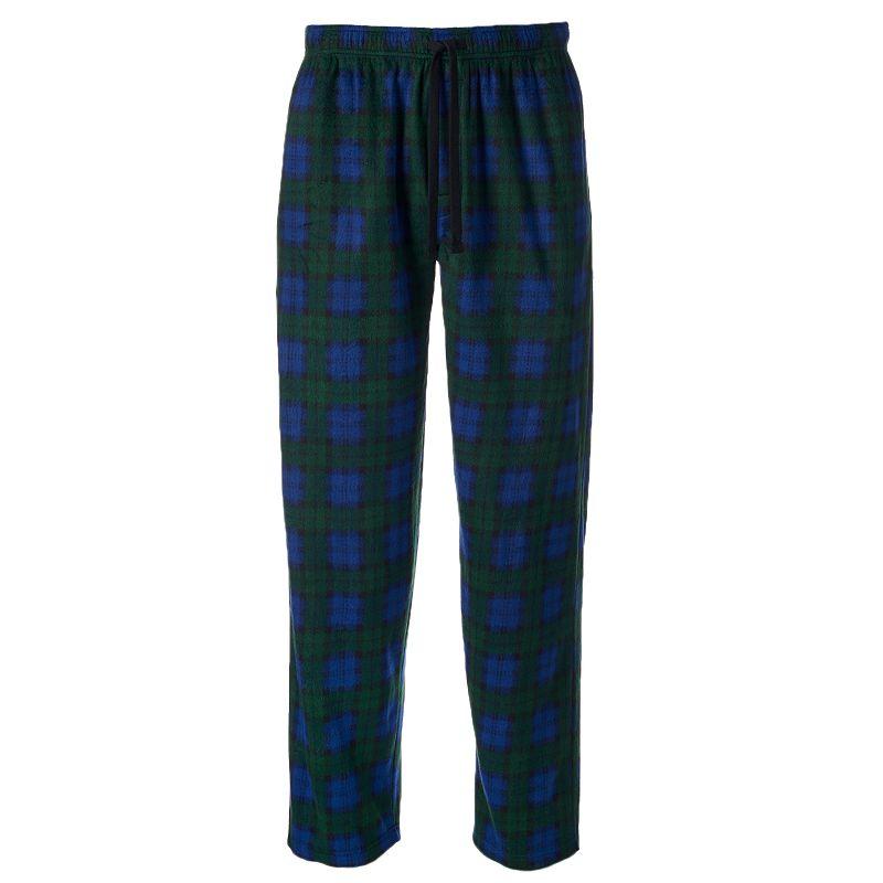 Men's Chaps Plaid Microfleece Lounge Pants