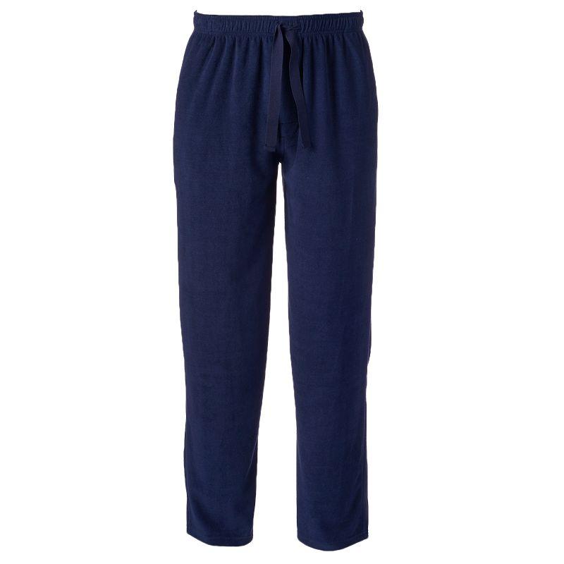 Men's Chaps Solid Microfleece Lounge Pants