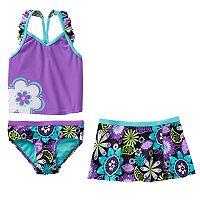 ZeroXposur Girls 4-6x Tankini Swimsuit Set