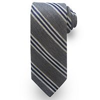 Haggar Striped Wool-Blend Tie - Men