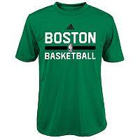Boys 4-7 adidas Boston Celtics Practice climalite Tee