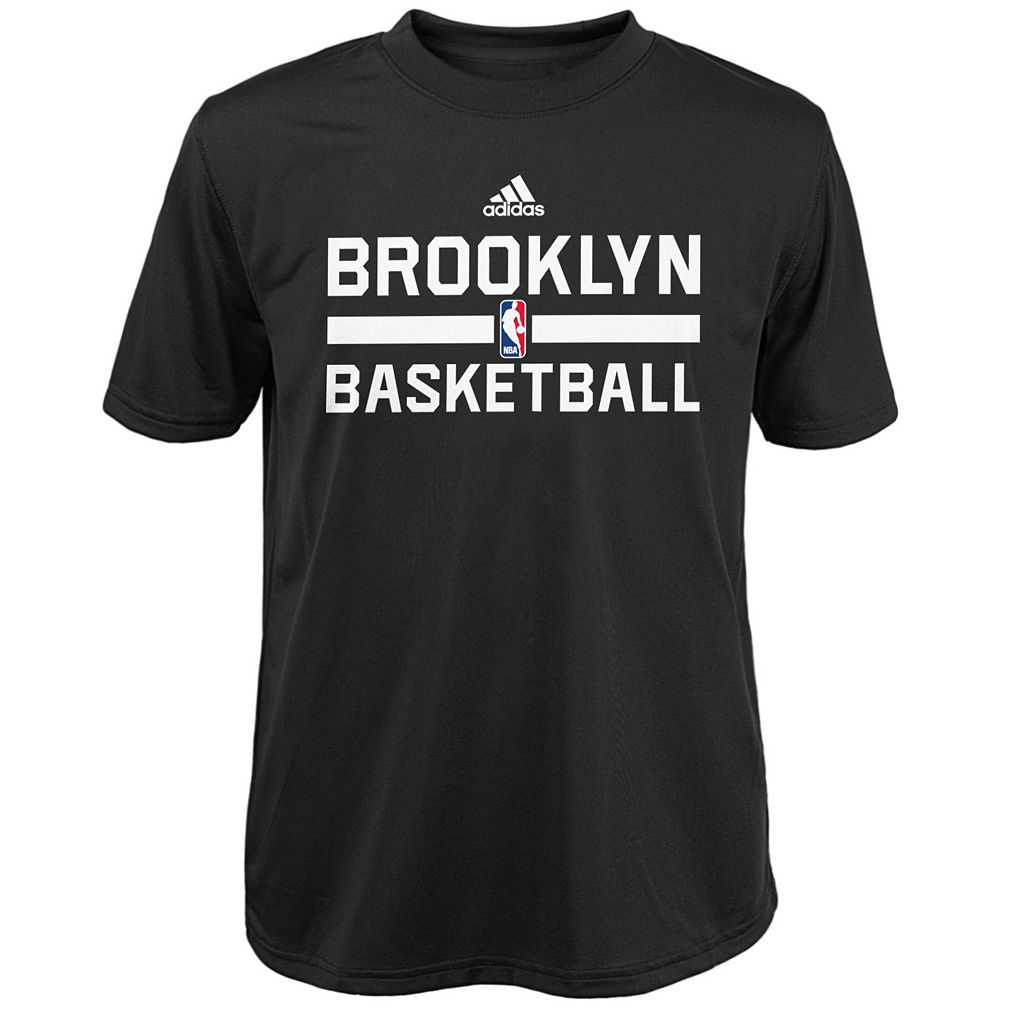 Boys 4-7 adidas Brooklyn Nets Practice climalite Tee