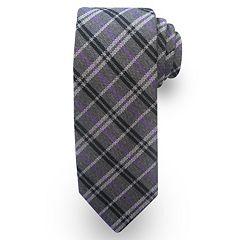 Haggar Plaid Wool-Blend Tie - Men