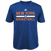 Boys 4-7 adidas New York Knicks Practice climalite Tee