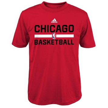 Boys 4-7 adidas Chicago Bulls Practice climalite Tee