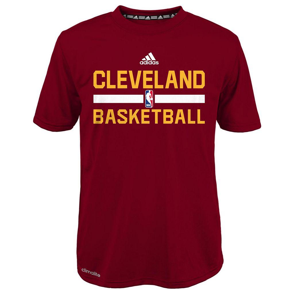 Boys 4-7 adidas Cleveland Cavaliers Practice climalite Tee