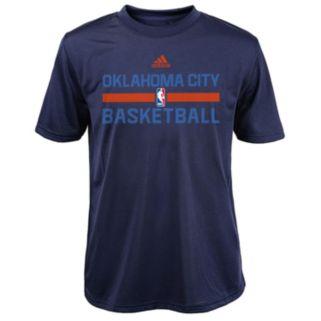 Boys 4-7 adidas Oklahoma City Thunder Practice climalite Tee