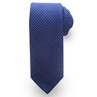 Extra-Long Haggar Mini-Houndstooth Wool-Blend Tie - Big & Tall