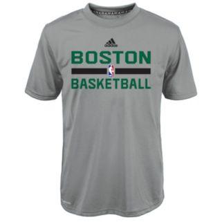 Boys 4-7 adidas Boston Celtics Heathered Practice climalite Tee
