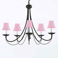 Gallery Wrought Iron Chandelier