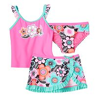 Girls 4-6x ZeroXposur Tankini Swimsuit Set
