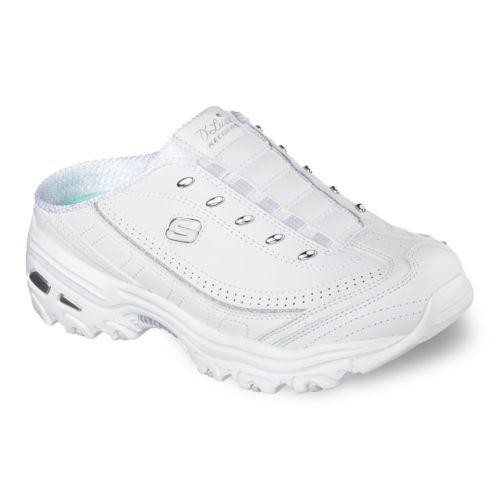 Skechers D'Lites Bright Sky Women's Slip-On Clog Sneakers
