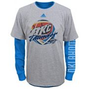 Boys 4-7 adidas Oklahoma City Thunder Cager Tee Set