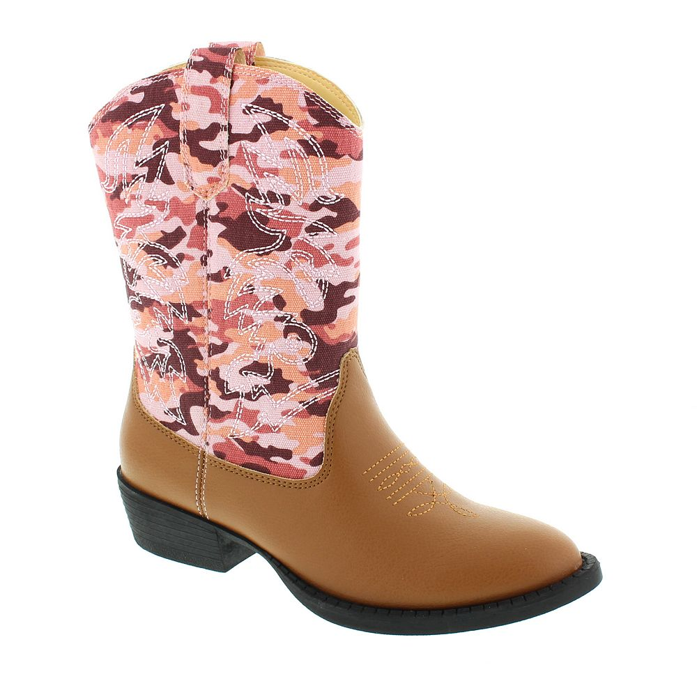 ee3201d5a525f Deer Stags Ranch Kids' Cowboy Boots