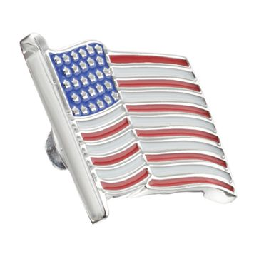Croft & Barrow® American Flag Lapel Pin