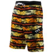Men's TYR Paint-Striped Swim Trunks