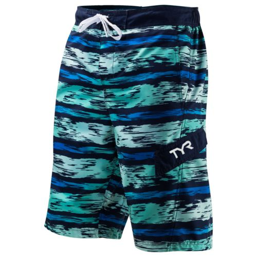 Men's Tyr Paint Striped Swim Trunks by Kohl's