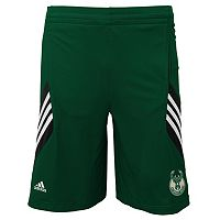 Boys 4-7 adidas Milwaukee Bucks Prestige Shorts