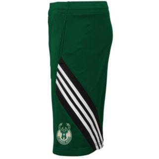 Boys 4-7 adidas Milwaukee Bucks Prestige Shorts