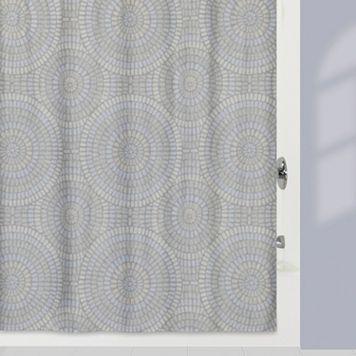 Creative Bath Capri Fabric Shower Curtain