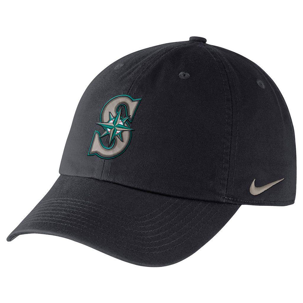 Adult Nike Seattle Mariners Heritage86 Dri-FIT Stadium Cap