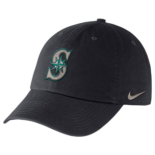 Adult Nike Seattle Mariners Heritage86 Dri-FIT Stadium Cap