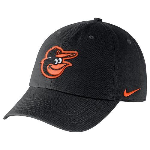 Adult Nike Baltimore Orioles Heritage86 Dri-FIT Stadium Cap