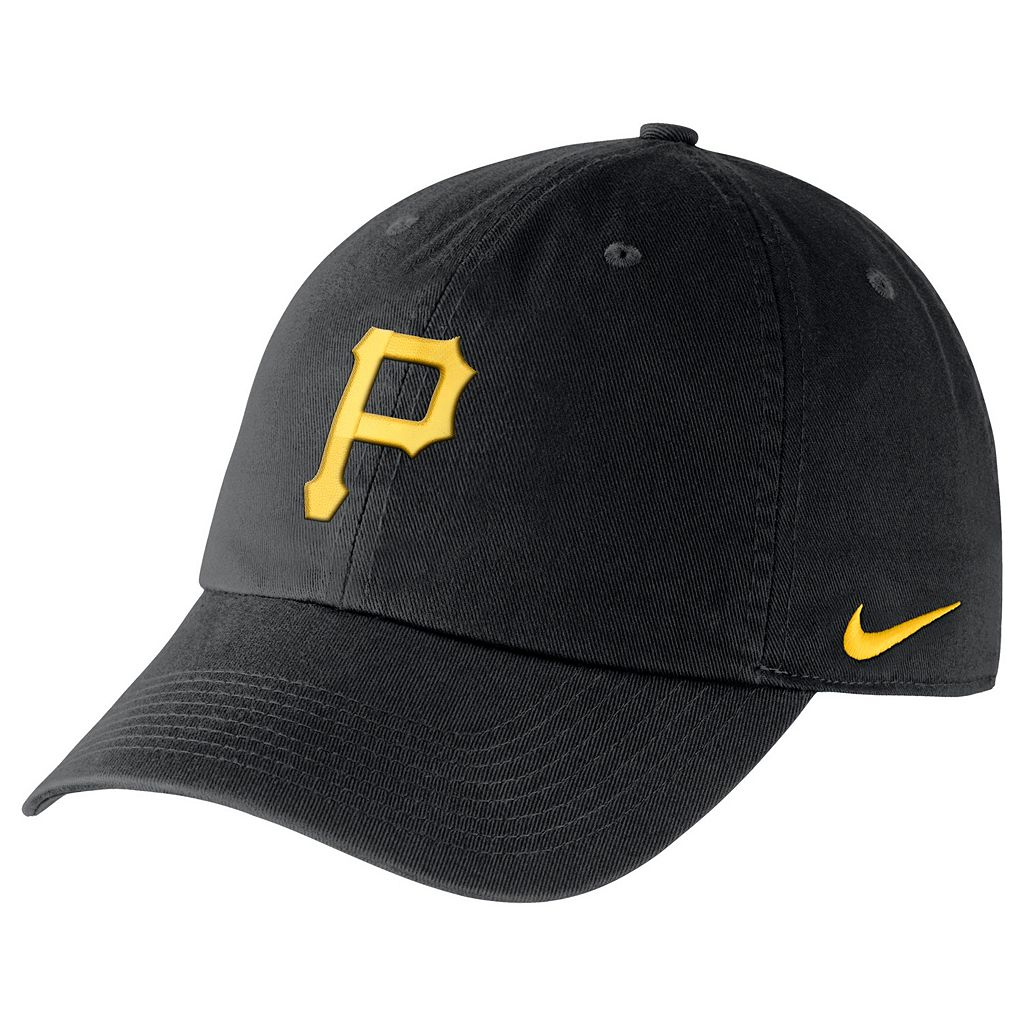 Adult Nike Pittsburgh Pirates Heritage86 Dri-FIT Stadium Cap