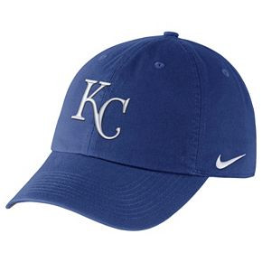 Adult Nike Kansas City Royals Heritage86 Dri-FIT Stadium Cap