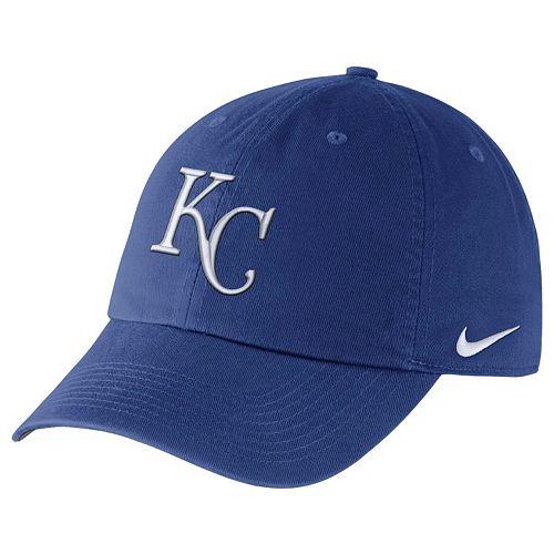 Adult Nike Kansas City Royals Heritage86 Dri-FIT Stadium Cap