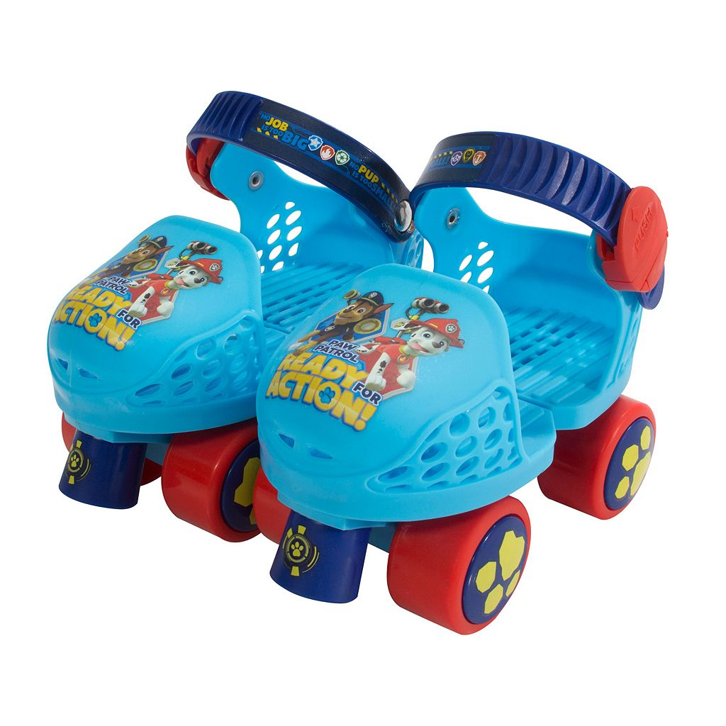 Paw Patrol Kids Roller Skate & Knee Pad Set