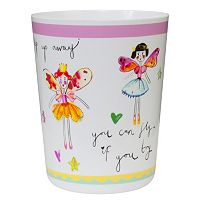 Creative Bath Faerie Princesses Wastebasket