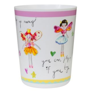 Creative Bath Faerie Princesses Wastebasket