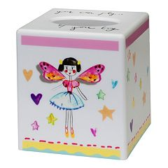 Creative Bath Faerie Princesses Tissue Box Cover