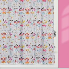 Creative Bath Faerie Princesses Fabric Shower Curtain